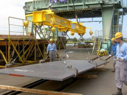 14.5t吊りハッカー掛け鋼板吊り具短尺用